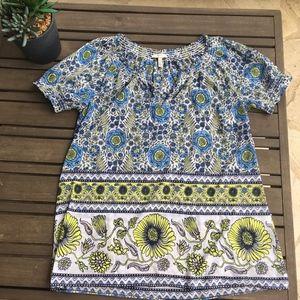 Joie peasant top blouse short sleeve - Sz XS